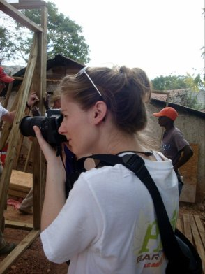 Research gives us the tools we need to look at the world through a different lens! Lelia in Haiti, 2011